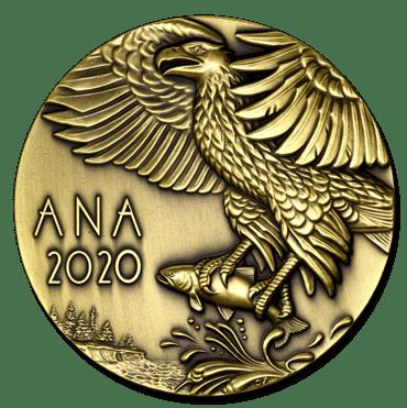 Rachel Carson medal reverse transparent drop shadow