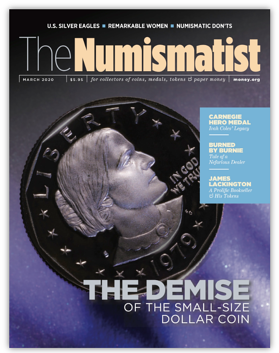 numismatist march cover