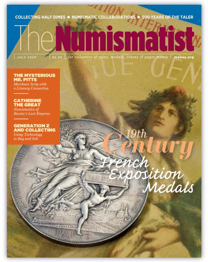 The-Numismatist-July-2020