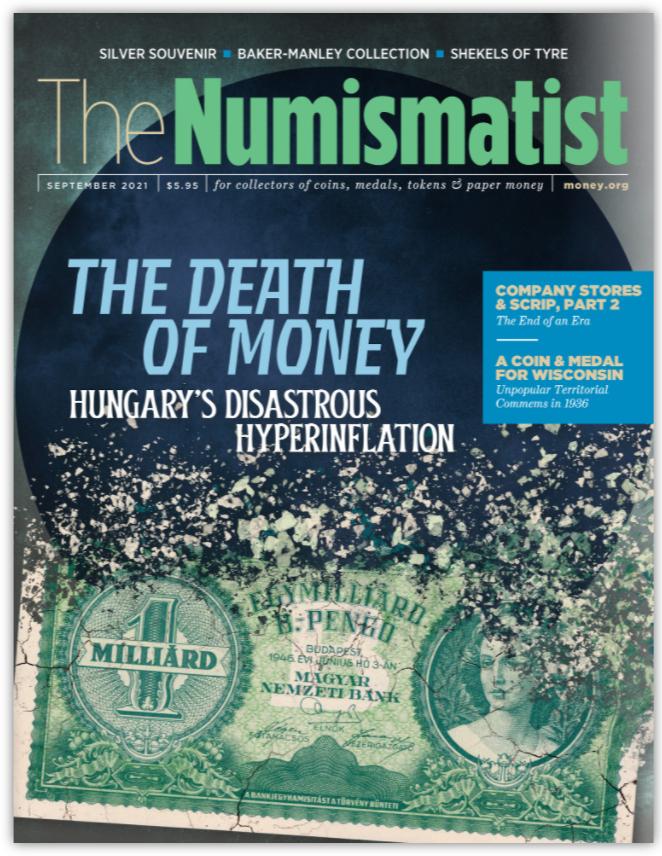 numismatist cover september 2021 v2