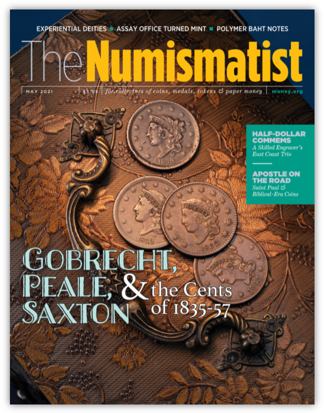 the numismatist cover 2021