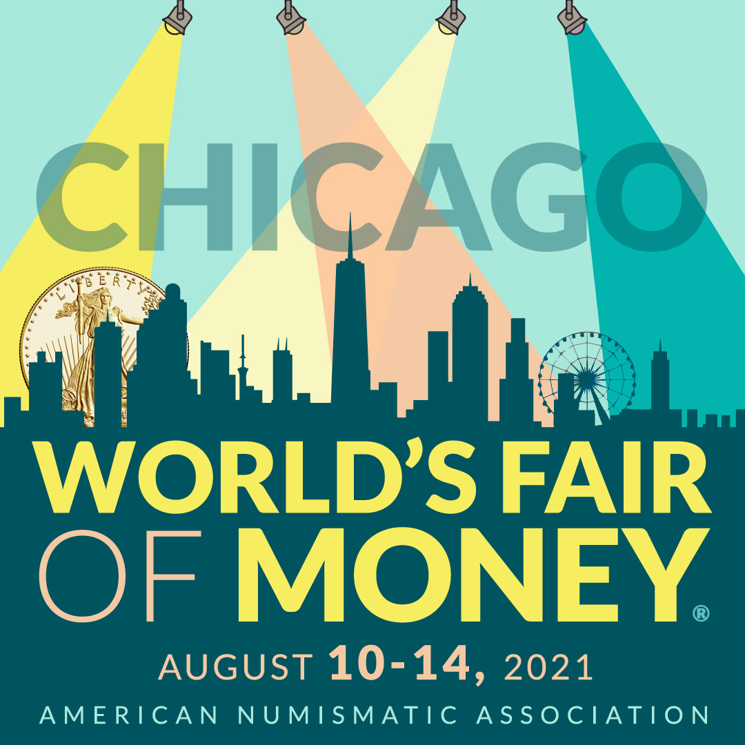 worlds fair of money 2021 ana logo